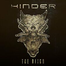 HINDER CD - THE REIGN (2017) - NEW UNOPENED - ROCK METAL - THE END