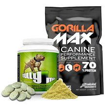 BULLY MAX MUSCLE BUILDER 60CT./GORILLA MAX 30 DAY SUPPLY