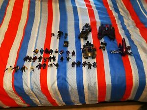 Halo Mega Bloks Lot including figures (37) vehicles (5) and weapons