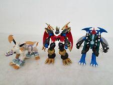 Bandai Digimon 3pc Action Figure Lot