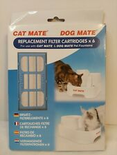 NEW Cat Mate Dog Mate Replacement Filter Ref 389 Cartridge Pet Fountain 6 Count