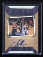 2007-08 SP Rookie Threads Portraits Autograph #PO-MB Mike Bibby Auto - BV $12