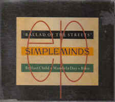 Simple Minds- Ballad of the streets cd maxi single