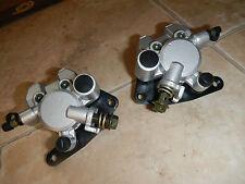 FRONT left right BRAKE CALIPER SET 2004-2009 250 LT-Z250 LTZ250 SUZUKI QUADSPORT