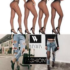 Fashion Sexy Ladies Women's Black High Waist Tights Mesh Fishnet Net Stocking
