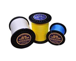 Jerry Brown Hollow Braid, 40-80-100-130-200lb,  NEW lot White, Blu, Grn, Yel,