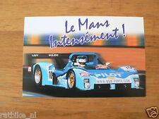 LE MANS 24 HEURES 1998 PILOT RACING FERRARI 333SP,FERTE,FABRE INFOCARD-POSTCARD