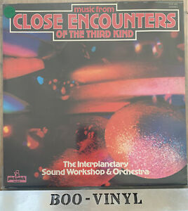 CLOSE ENCOUNTERS OF THE THIRD KIND - 1978 Vinyl 33rpm LP Soundtrack EX / EX