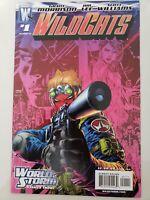 WILDCATS #1 (2006) WILDSTORM COMICS WORLD STORM! GRANT MORRISON! JIM LEE ART!