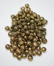 Beads Gold Small Star Beads 8mm