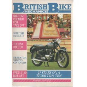 British Bike Mechanics Magazine November 1987 (025) TIGER TON-TEN BSA NORTON