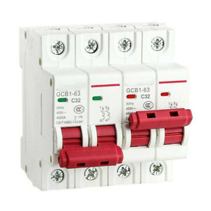 1PCS 2P-63A MTS Dual Power Manual Transfer Switch Circuit Breaker MCB 50HZ/60HZ