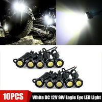 10X White DC 12V 9W Eagle Eye LED Daytime Running DRL Backup Light Car Auto Lamp