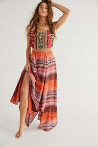 Free People Regina Midi Dress XS 8/10 new