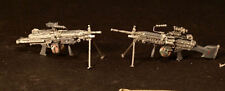 Airborne Miniatures #16064 1/16 M249 SAW Machine Guns set (2 Guns)