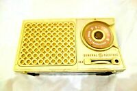 GENERAL ELECTRIC GE MODEL P760A  TRANSISTOR RADIO USA 1960 VINTAGE