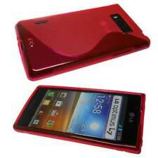 caseroxx TPU-Case voor LG P700 Optimus L7  in red gemaakt van TPU