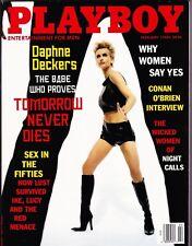 Playboy February 1998 / Daphne Deckers / James Bond / Conan O'Brien interview