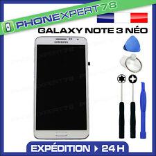 VITRE TACTILE + ECRAN LCD ORIGINAL SAMSUNG GALAXY NOTE 3 NÉO N7505 BLANC +OUTILS