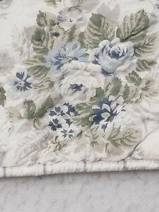 Simply Shabby Chic Rachel Ashwell Standard Pillow Sham Blue Floral