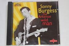 "Sonny Burgess  ""the Arkansas wild man"""
