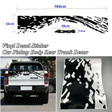 1 Pcs Car Pickup Body Rear Trunk 165cmx32cm Vinyl Graphics Decal Decor Sticker