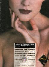 Publicité 1992  GORE-TEX  vetement de sport et de ville collection mode