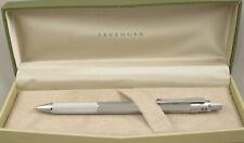 Levenger L-Tech Silver .5mm Mechanical Pencil - New In Box