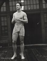 1985 Vintage BRUCE WEBER Semi Nude Male Athlete Cambridge Muscle Photo Gravure
