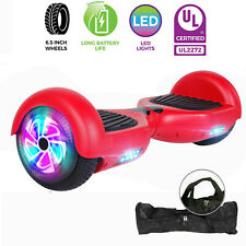 "Classic 6.5"" Red Hoverboard Ul Hoverboard Electric Self Balancing Scooter W/ Bag"