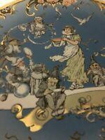 Heinrich Schlitt  VILLEROY & BOCH METTLACH SNOW WHITE PLATE 1980 FIRST EDITION