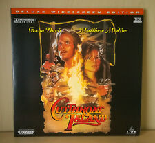 CUTTHROAT ISLAND Laserdisc - NTSC - Deluxe Widescreen Edition - AC-3 - THX