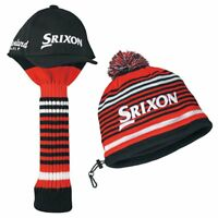 DUNLOP Headcover SRIXON Head Cover & Iron Cover Set GGF-70160 Black Japan