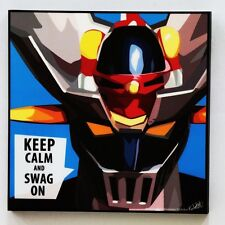 Mazinger Z POP ART canvas quotes wall decals photo painting framed poster