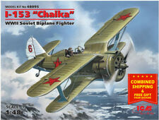 "ICM 48095 - 1/48 I-153 ""Chaika"", Soviet Biplane Fighter,  WWII, scale model kit"