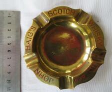 JOHN HAIG'S SCOTCH WHISKEY Brass Ashtray -  Ash tray - D'ye Ken