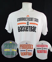 WNBA Adidas Climalite/Aeroknit Men's On Court Shooting Shirt Multi-Team