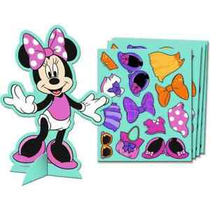 Minnie Mouse Dream Disney Kids Birthday Party Favor Dress Up Game Activity Kits