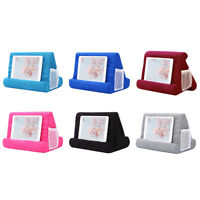 Portable Multi-Angle Tablet Stand Foam Soft Pillow Bracket for iPad Holder New