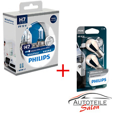 Set Philips WhiteVision H7 + 12V/21W SilverVision 12972WHV + PY21W