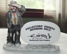 Emmett Kelly Jr. collectors' society members only figurine by Flambro