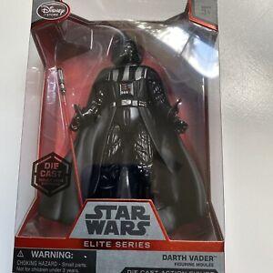 """Disney Store Star Wars Darth Vader Elite Series Die Cast 7"""" Action Figure New"""