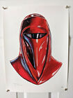 Tim Doyle Shiny Objects Star Wars Emperor's Royal Guard Signed Numbered Print