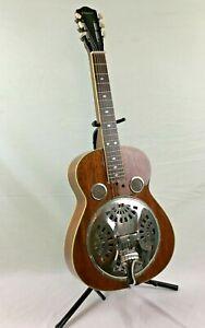 Johnson Resonator Square Neck Acoustic Guitar Slide Blues Great Shape