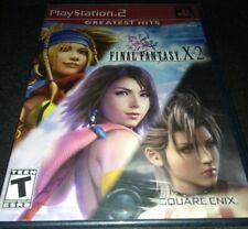 * New *  Final Fantasy X-2  10-2  X2  - Sony PlayStation 2  ps2   NTSC USA