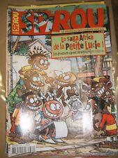 Spirou N° 3334 2002 BDn La saga africa de la petite lucie Mélusine Cactus Club