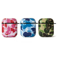 BAPE A Bathing Ape ABC Camo Cover Case For Apple AirPods 1st & 2nd Generation