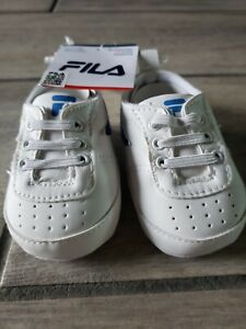 NWT Fila 0-6 Month Shoes Metallic Blue