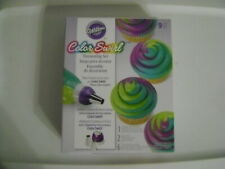 New listing Wilton Nine (9) pc Color Swirl Decorating Set / Sealed / New