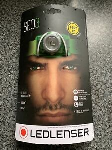 Ledlenser SEO3 Head Torch - New